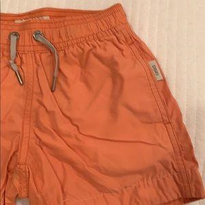 Onia Boys Swim trunk color orange
